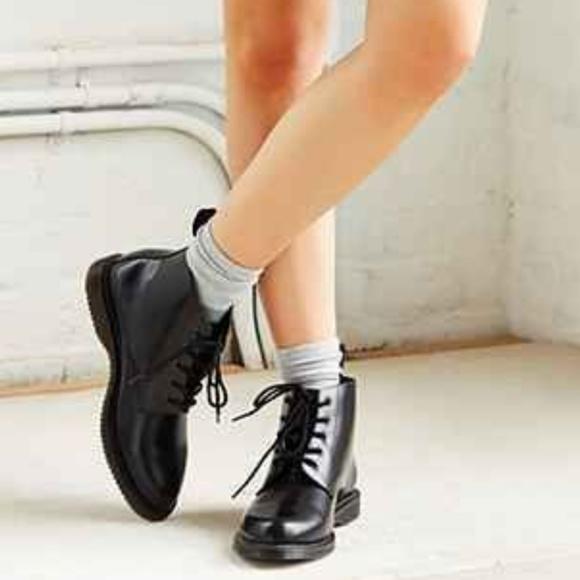 6c8498abc71 Doc Martens Emmeline Black ankle boots